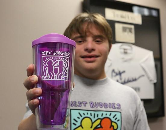 Haring Biggie Tumbler Cup (Purple)