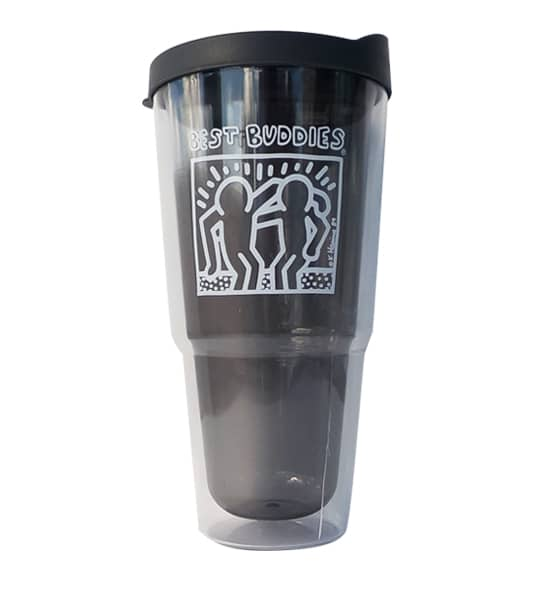 Haring Biggie Tumbler Cup (Charcoal)