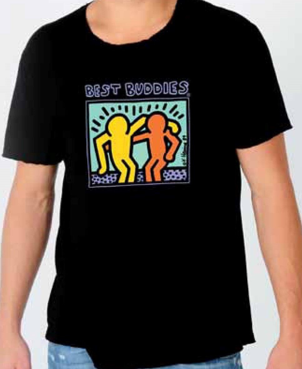 Traditional Haring Tee (Black)