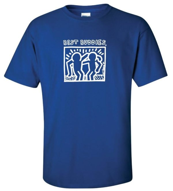 White Haring Tee (Royal Blue)