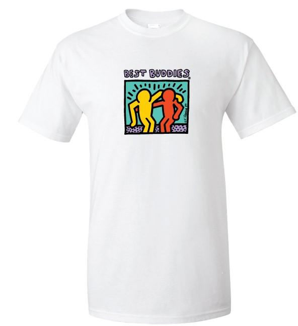 Traditional Haring Tee (White)