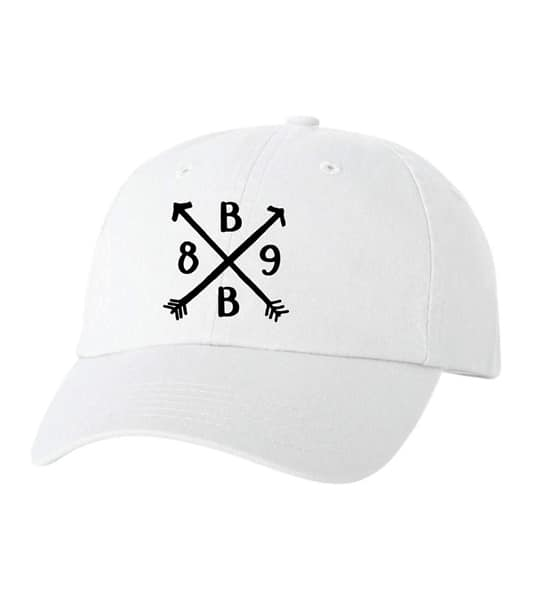 Best Buddies Hat – Friendship Arrow (White)