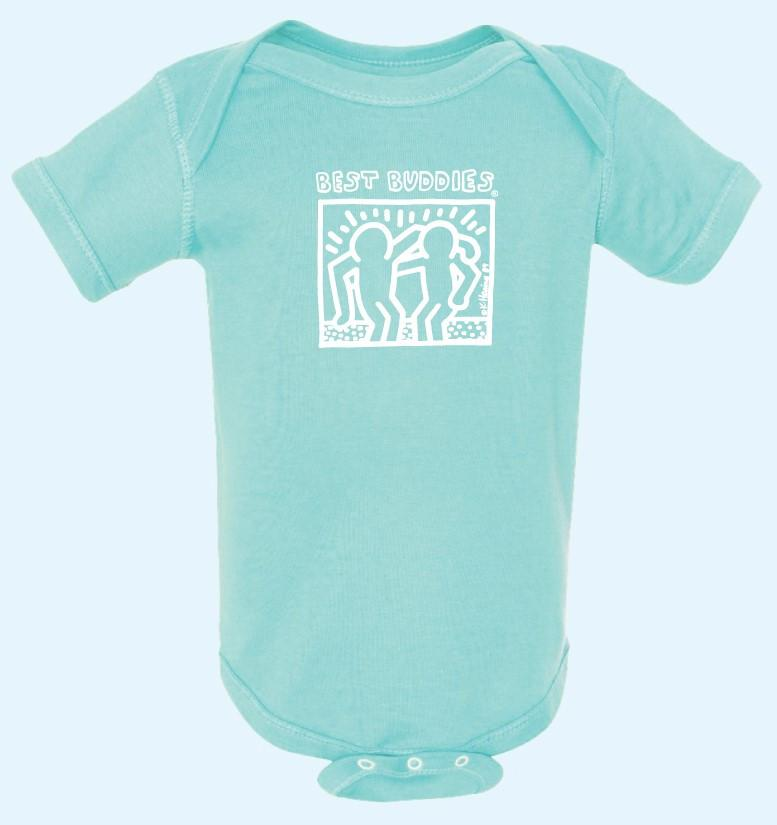 YOUTH - Onesie - White Haring - (Mint)