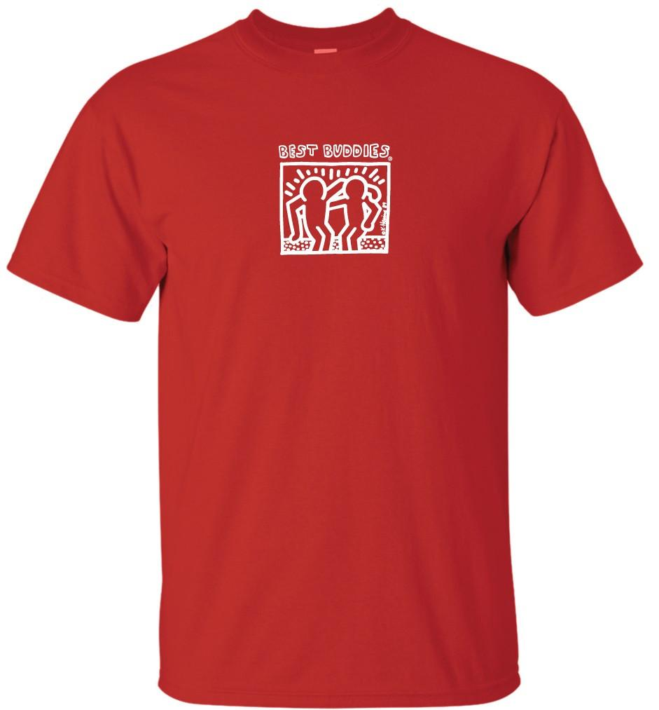 YOUTH - White Haring Tee (Red)