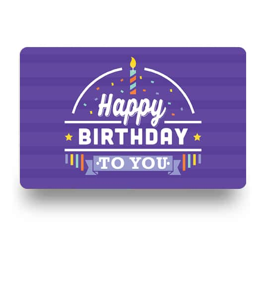 E-Gift Card: Birthday