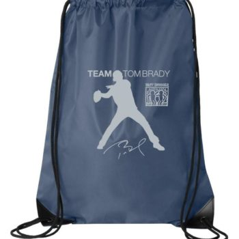 Team Tom Brady Drawstring Bags