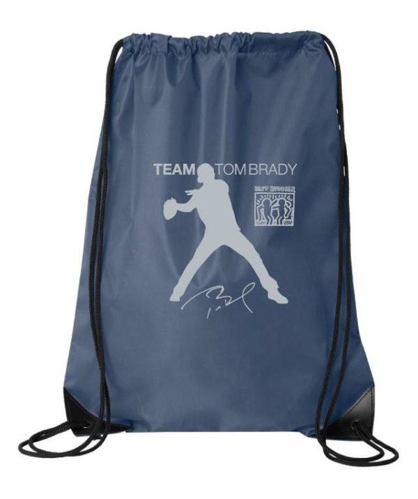 Team Tom Brady Drawstring Bags