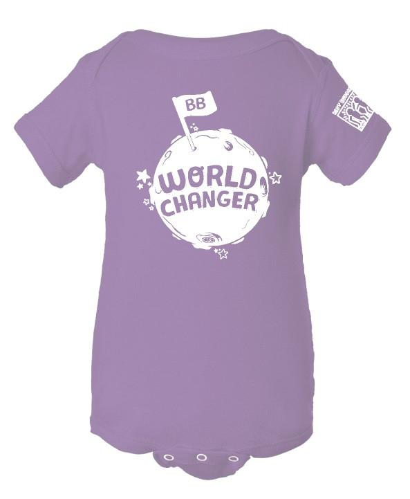YOUTH - Onesie - World Changer (Lavendar)