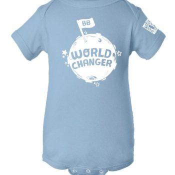 YOUTH - Onesie - World Changer (Light Blue)