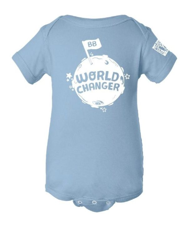 YOUTH - Onesie - World Changer (Light Blue)