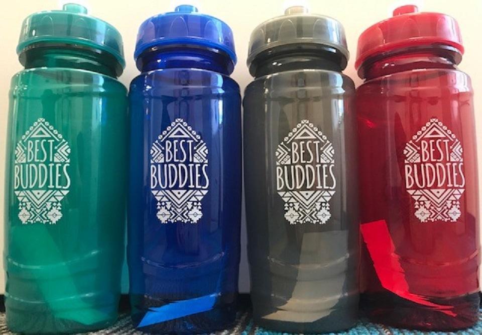 Best Buddies Tribal Water Bottle