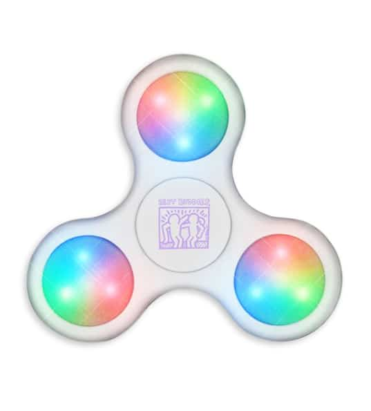 Haring Fidget Spinners (White)