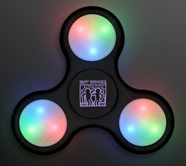 Haring Fidget Spinners (Black)