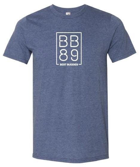 BB89 - Heather Blue