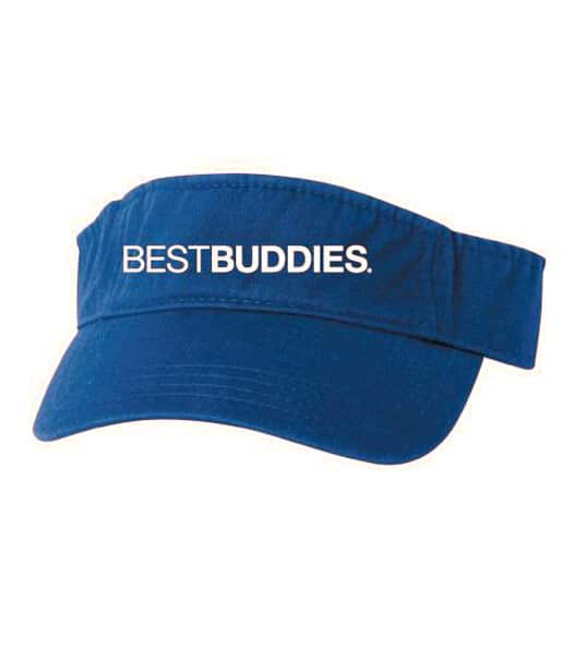 Best Buddies Visor (Blue)