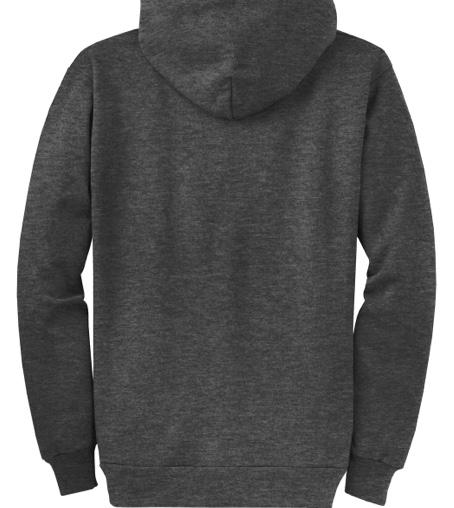 BB89 Full-Zip Hoodie (Dark Heather Grey)