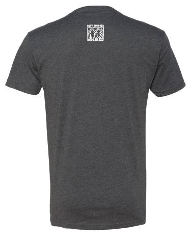 BestBuddies Typeset V-Neck (Charcoal)