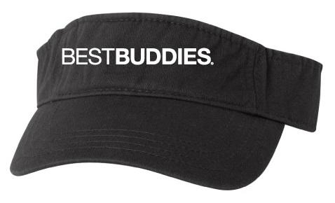 Best Buddies Visor (Black)