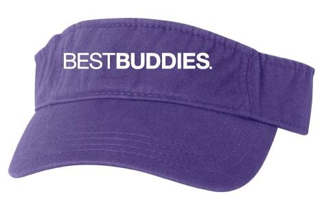 Best Buddies Visor (Purple)