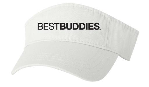 Best Buddies Visor (White)