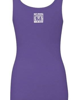 BestBuddies Typeset Women's Tank Top (Purple Rush)