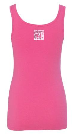 BestBuddies Typeset Women's Tank Top (Raspberry)