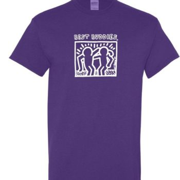 White Haring Tee (Lilac)