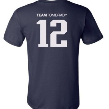 Team Tom Brady Shirt (Navy Blue)