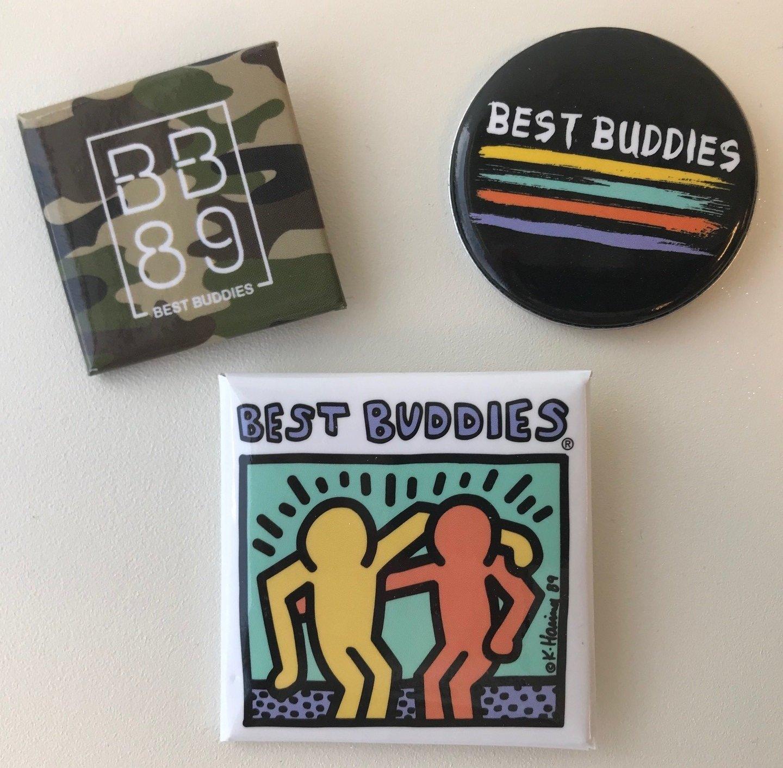 Best Buddies Button 3-Pack