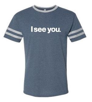 I See You (Indigo Heather/Oxford)