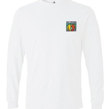 Striped Long Sleeve Haring (White)