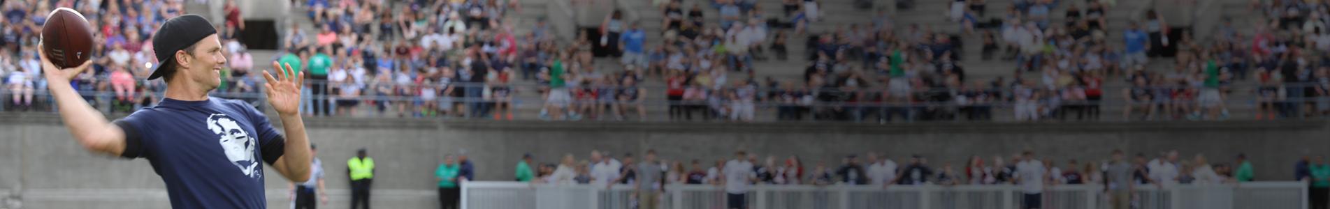 Team Tom Brady Banner