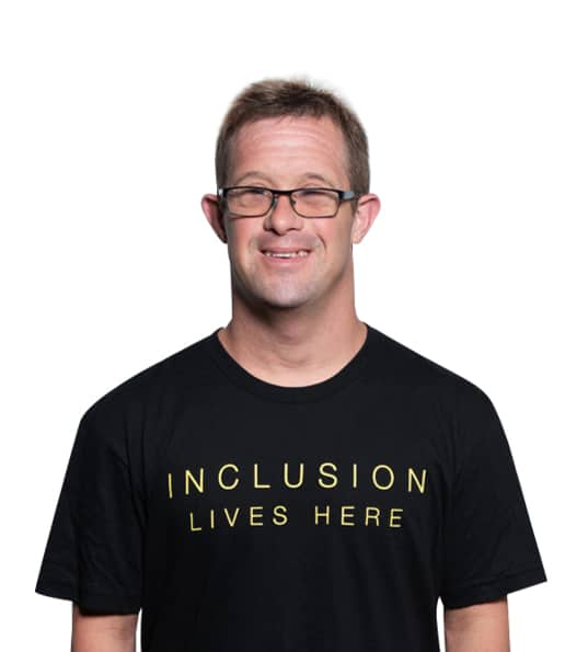 Inclusion Lives Here (Black)