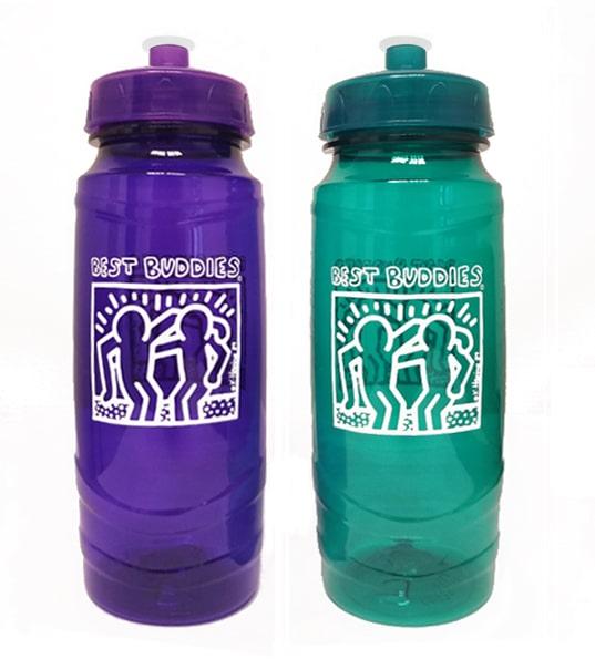 Best Buddies White Haring Water bottle