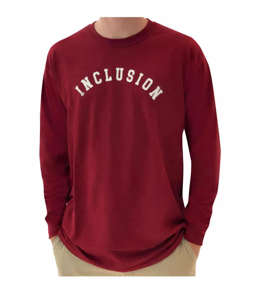 Inclusion Bloomington (Burgundy) Front