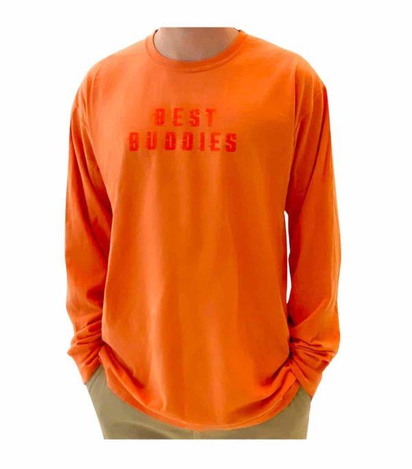 Best Buddies Long Sleeve Tee (Orange)