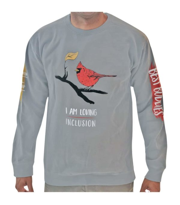 I am Loving Inclusion Sweater (Grey)