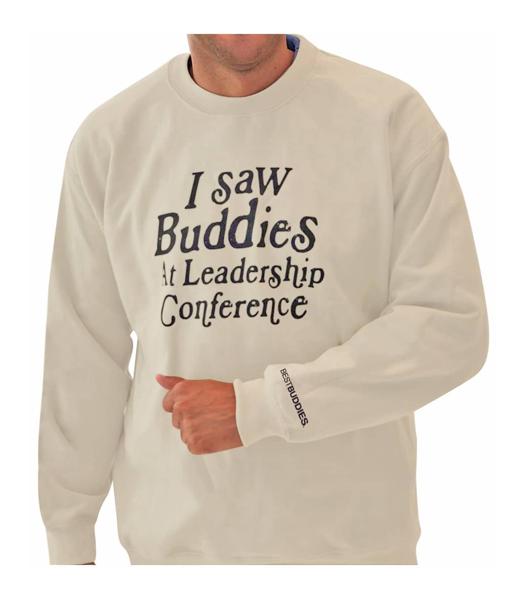 I Saw Buddies Sweater (Sandstone)