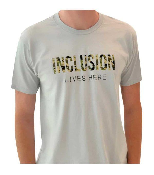 Inclusion Lives here (Camo)