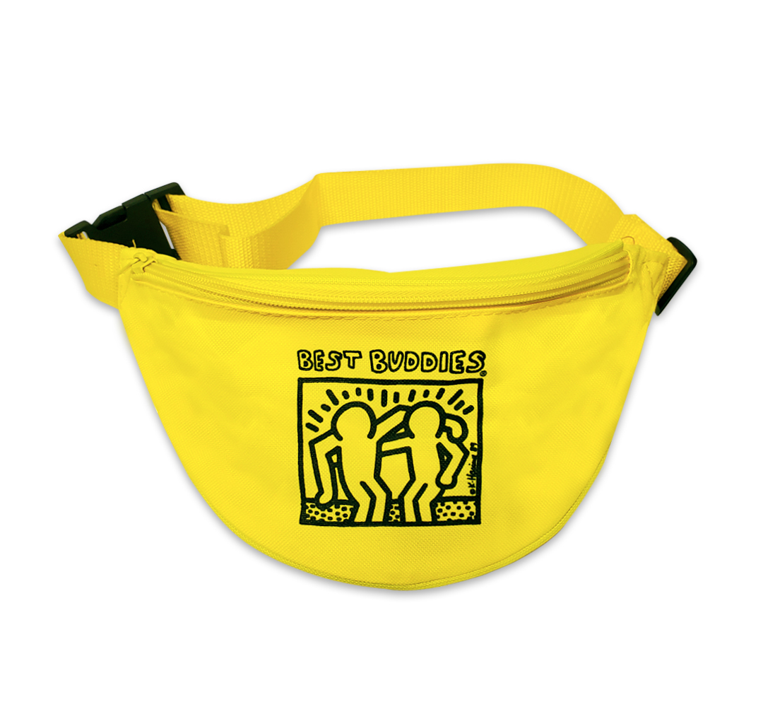 Yellow: Best Buddies Haring Fanny Pack