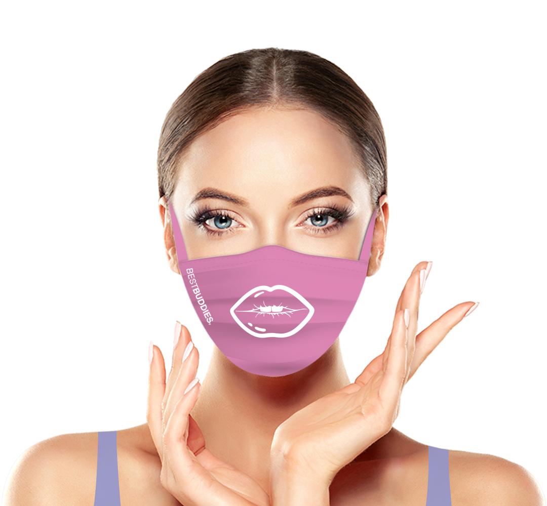 Best Buddies Pink Mask