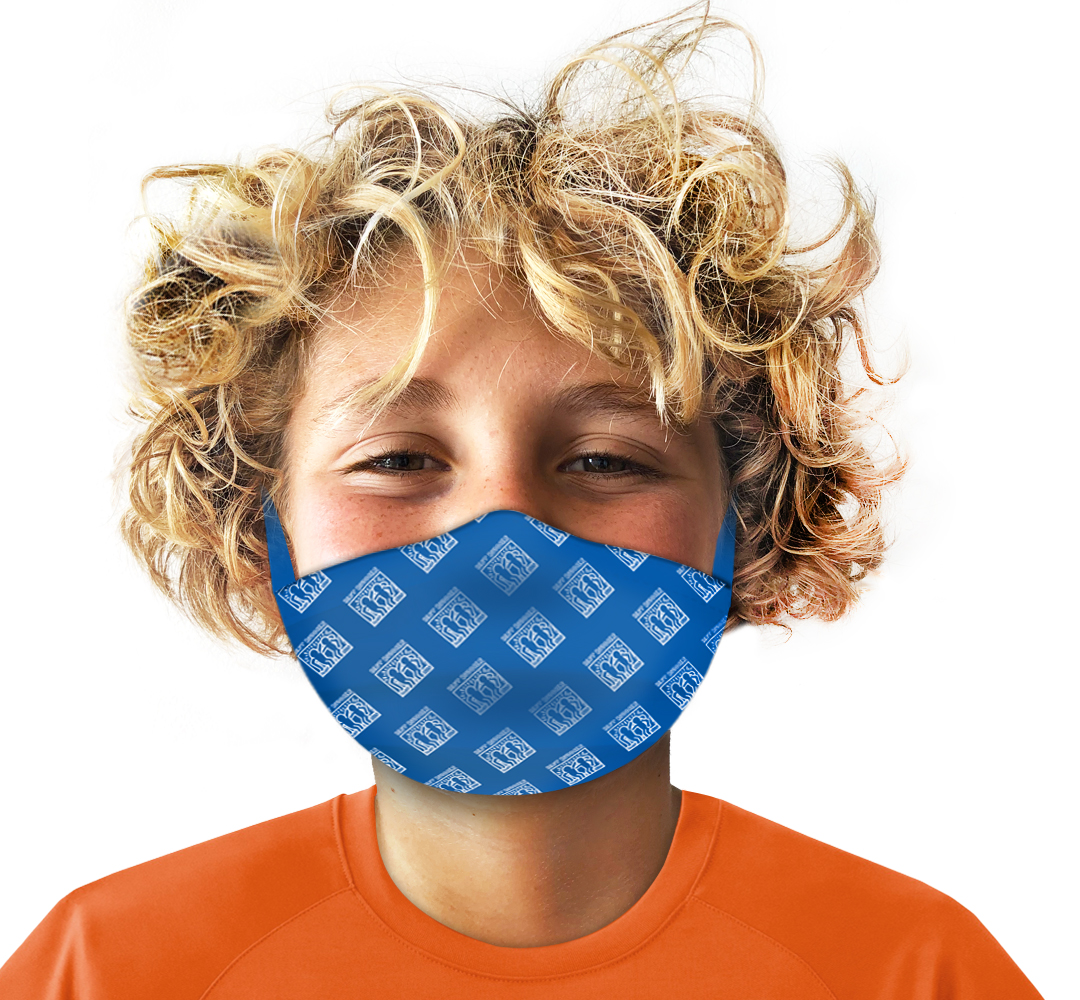 Best Buddies Kid's Blue Mask: Non 95 Medical