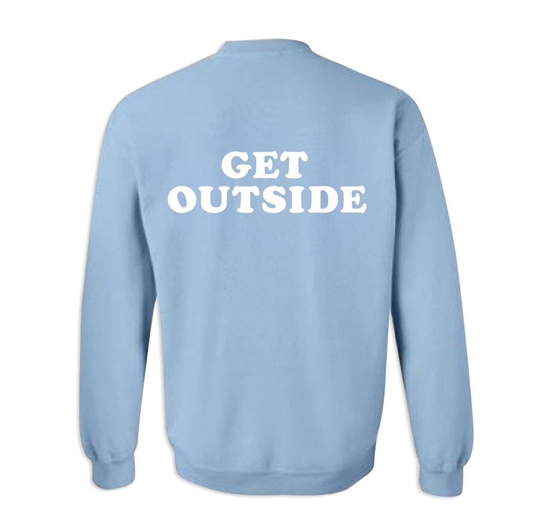 Best Buddies Get OutSide Sweater (Back)