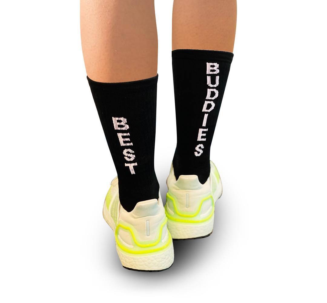Best Buddies Blakc Socks
